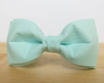 Mint Bow Tie Sale Bow Tie Mint Green Bow Tie for Men Gift for Men Wedding Bow Tie Cotton Bow Tie Mens Bow Tie Mint Mens Bow Tie Pre Tied