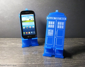 Doctor Who TARDIS Phone Stand Docking Station Universal Phone Stand For Android Galaxy iPhone