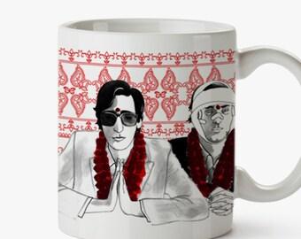 The Darjeeling Limited Mug - Wes Anderson Tribute