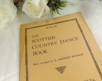 Scottish , Vintage Scottish Country Dance Booklet 1950s