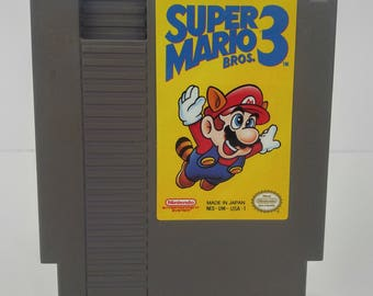 Nintendo NES Super Mario Bros 3 Tested and Cleaned