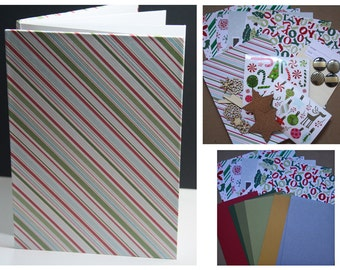 CLEARANCE - Candy Stripped Accordion Album Kit