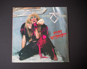 1984 TWISTED SISTER | Stay Hungry | Vintage Vinyl Album | We're Not Gonna Take It | I Wanna Rock | Dee Snider
