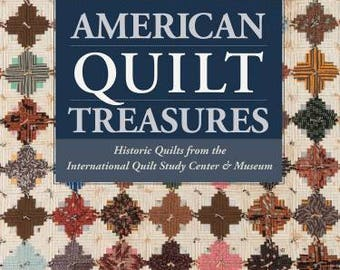 NEW! American Quilt Treasures Book