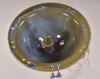 Ring dish, Earning dish,Wedding ring, Engagement gift, Jewelry dish ceramic, Jewelry storage bowl, Ring pillow, Ceramic ring dish, Pottery.