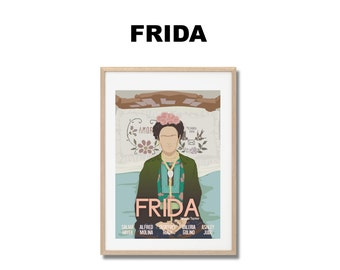 Frida Movie Print - Poster Julie Taymor A3