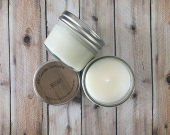 Whiskey -Scented Soy Candle, Coconut Candle, Spirits Collection, Man Candle, Man Cave Candles, Soy Coconut Candles, Whiskey Scented Candles,