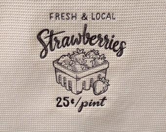Farmers Market Towel, Farmers Market Style, Farmhouse Decor, Farmhouse Towel, Farm Kitchen Decor, Farm Kitchen Saying, Farm Kitchen Towel