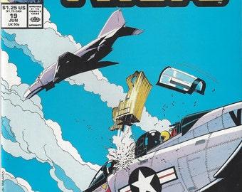 The Nam #19 Vintage Marvel Comic Book, C1988