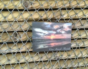 Sunrise magnet Vero beach Florida