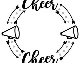 Cheerleader vinyl pattern
