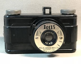 Vintage Rolls Rollax Camera Chicago