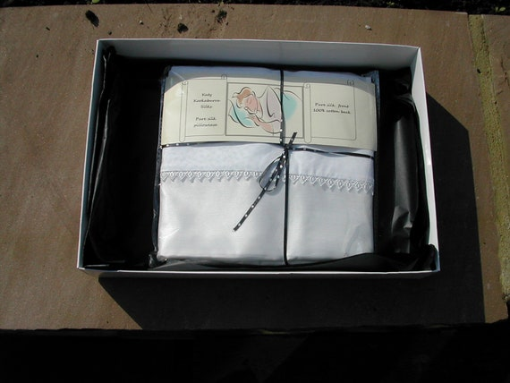 Gift box for silk pillowcase