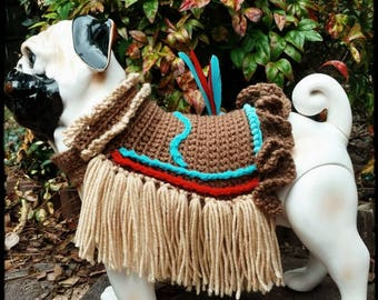 "Dog Costume ""Little Apache"""