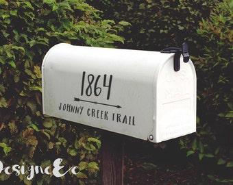 Mailbox Stickers