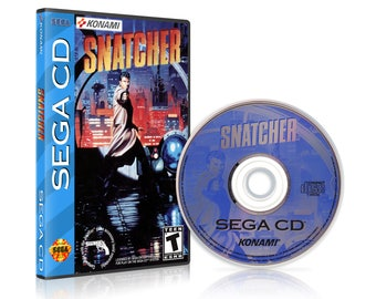 Snatcher Sega CD Reproduction