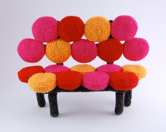 amigurumi pattern - bubbly sofa