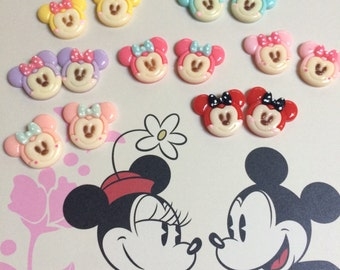 Kawaii Minnie Mouse Earrings