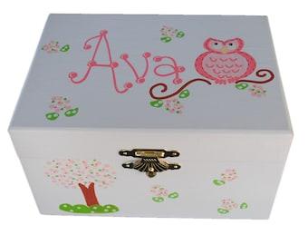 Girls jewelry box Etsy