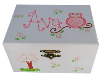 Personalized musical jewelry box african american ballerina personalized musical jewelry box white baby gift girl gift musical box negle Images