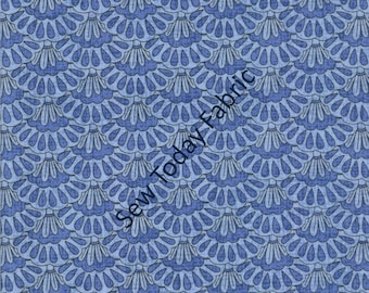 Caprice Fans by Chong-a Hwang - Timeless Treasures CAPRICE-C9769-BLUE (sold by the 1/2 yard)