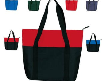 Customized Polyester Tote Bag, Custom Printed Large Size Tote, Reusable Shopping Bag, Grocery tote bag