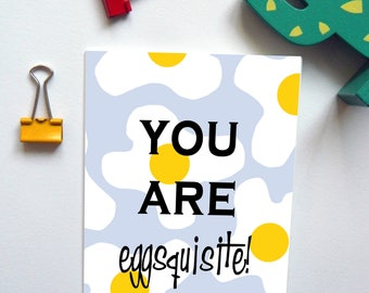 Eggsquisite Anniversary/Birthday/Valentines Day Card