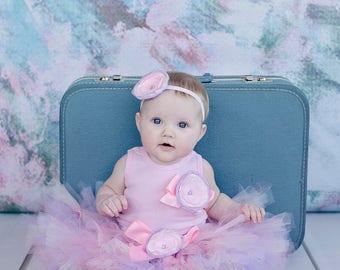 Pink Birthday Tutu   Baby Girl Tutu Skirt