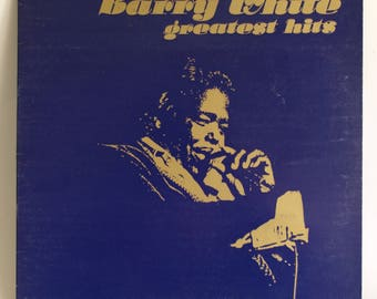 Barry White Greatest Hits Vinyl Album - Vintage Record Original Pressing 1975 - 20th Century Records - Made In Australia