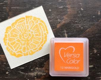 Versacolor Marigold orange Pigment Ink Stamp Pad Tsukineko Ink Pads Small