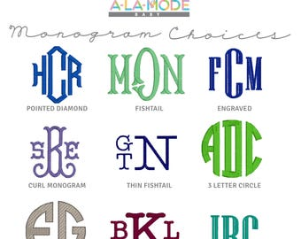 BOYS Font Choices & Text Choices [do not purchase]