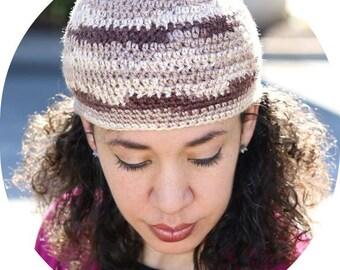 Made To Order Crochet Women's Beanie, Women's Beret, Women's Tam, Women's Hat, Women's Skull Cap