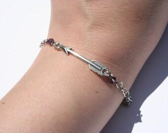Hawkeye Inspired Arrow Bracelet