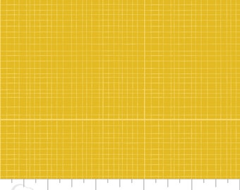 5 Yard Cut - Camelot Fabrics - Mixology Tumeric in Linen - Blenders