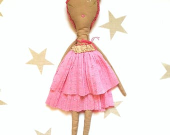 "Ginette Seville. ""Les Ginettes"" rag doll. A Rag Dolls Collection"