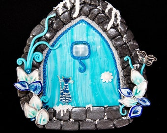 Ice fairy door