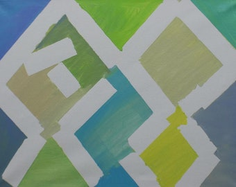 Window Pane - Abstract