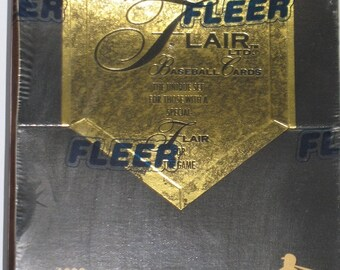Fleer Flair Ltd 1993 Baseball Premiere Edition Boxed Cards