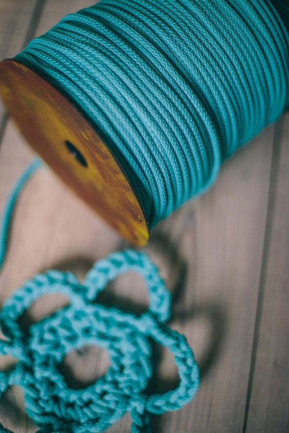 CAPRI yarn, DIY crafts, diy projects, craft supplies, craft yarn, rope yarn, polyester cord, macrame cord, crochet cord, crochet yarn. #51