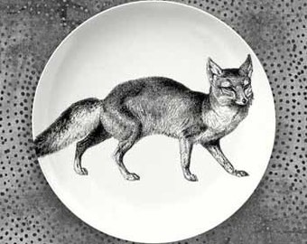 Fox plate dinnerware