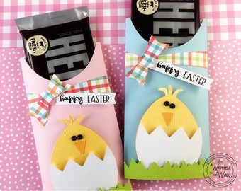 Easter tags paper carrots happy easter tags treat bags kit easter chick candy bar wraps kids easter basket hershey employee gifts negle Choice Image