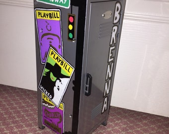 Custom Mini Locker (broadway themed)