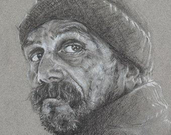 Limited Edition Print, 'Portrait #9'