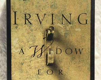 A Widow For One Year  1998 vintage book, John Irving, first edition, collectible, fiction, literary fiction, bestseller, novel