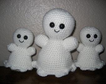 Sweet Ghosts Amigurumi Crochet Pattern