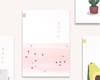2018 mensuel planificateur carnet de notes, Agenda mensuel, mensuel planificateur, carnet de planificateur hebdomadaire, carnet de notes, Journal, livre broché petit quotidien