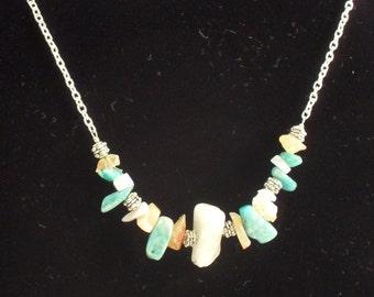 Southwestern Sunset Necklace