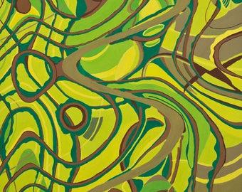 """Handmade art card """"Fen's Fern"""""""