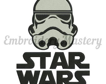 STORM TROOPER Machine embroidery design. Star Wars. 5 sizes