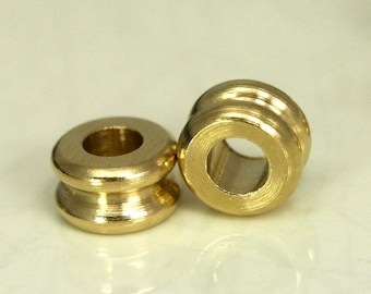 Raw Brass Cylinder 15 Pcs 5,5x6 mm (hole 3 mm) industrial brass Charms,Pendant,Findings spacer bead bab3 1317R